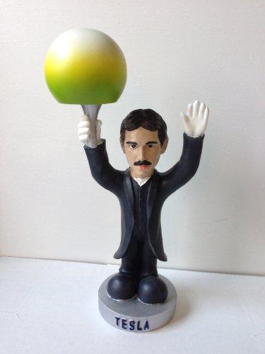 Oddbobbles Nikola Tesla Bobblehead Statue 2nd Edition