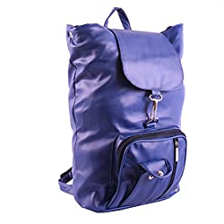 New Zovial Royal Blue PU Small Backpack