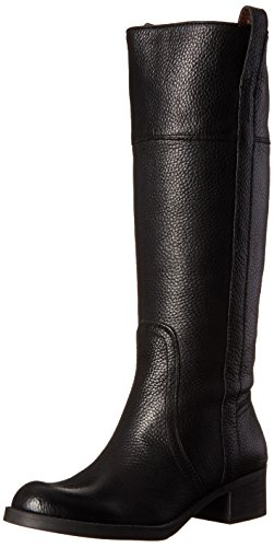 Lucky Women's Heloisse Riding Boot, Black,8 M US
