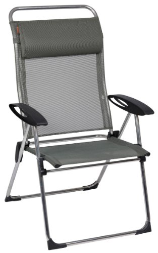 Lafuma Collapsible chair CHAM'ELIPS XL with Batyline (cover: green)