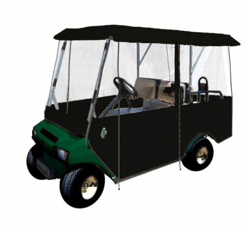 Greenline 4 Passenger Drivable Golf Cart Enclosure