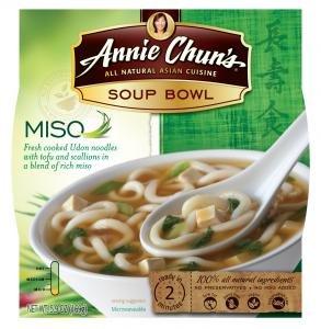 Annie Chun's Miso Soup Noodle Bowl, 5.9-Ounce Bowls
