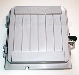 Cableguard Cg 1000 Coax Demarcation Enclosure Outdoor Waterproof Weatherproof Cable High Impact