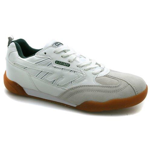 Mens Hi-Tec Squash Classic Leather Trainers