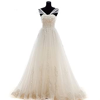 Aladdin Fairy White Wedding Dresses For Women Vintage Plus Size Gowns 2015 At Amazon Womens