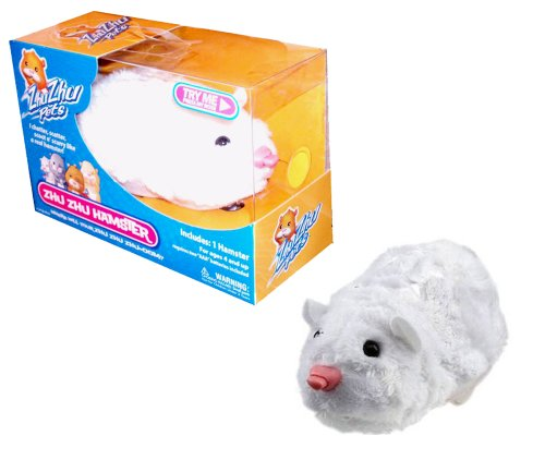 41Ar 5rGtTL Reviews Cepia Zhu Zhu Pets that Chatter, Scatter, Scoot n Scurry Like a Real Hamster   CHUNK (White)