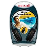 MAXELL-HEADPHONES 190402 MAXELL LIGHT WEIGHT NOISE CANCELLING HP