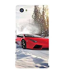 Ebby Premium Printed Back Case Cover With Full protection For Sony Xperia Z5 Compact / Sony Xperia Z5 Mini (Designer Case)
