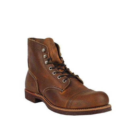 (レッドウィング)RED WING 6インチ アイアン レンジ ブーツ [カッパー] 8115 Iron Ranger Boot レザー メンズ ブラウン Made in USA レッドウイング US8(約26.0cm) COPPER(並行輸入品)