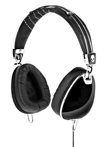 Skullcandy S6Avfm-156 Aviator Headphones With Mic3 (Black)