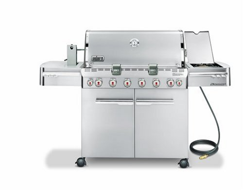 Weber 1880301 Summit S-650 Natural Gas Tuck-Away Rotisserie Grill