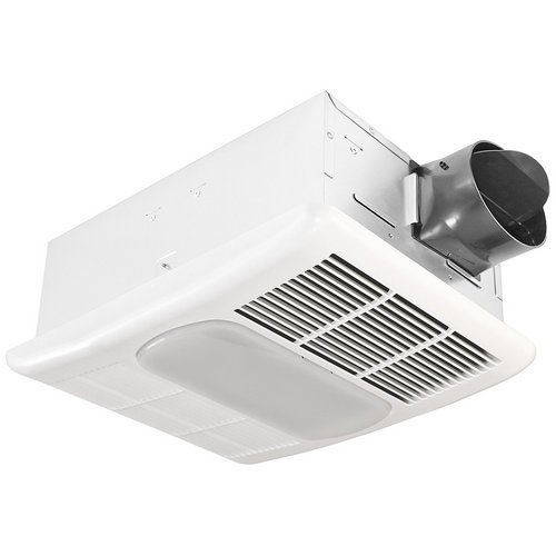 Delta BreezRadiance RAD80L 80 CFM Exhaust Fan with Light and Heater (Fans Exhaust compare prices)