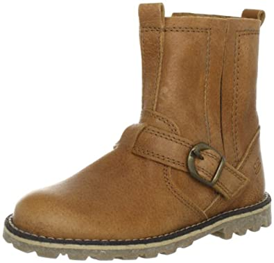 Pinocchio Boys 31571 Mid Brown Leather Boots Brown Braun (Natural 36LE-0000) Size: 30