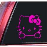 Hello Kitty Vinyl Decal Sticker - Hot Pink