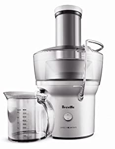 Breville Compact Juice Fountain - 700-Watt Juice Extractor - Gift for the Kitchen
