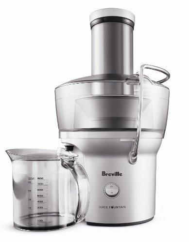 Breville Compact Juice Fountain 700-Watt Juice Extractor BJE200XL