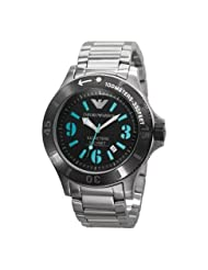 Emporio Armani Quartz Black Dial Men's Watch AR0630