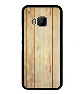 Wooden Pattern 2D Hard Polycarbonate Designer Back Case Cover for HTC One M9 :: HTC One M9S :: HTC M9 :: HTC One Hima