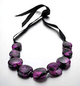 Chunky Supernova Bead Collar Necklace