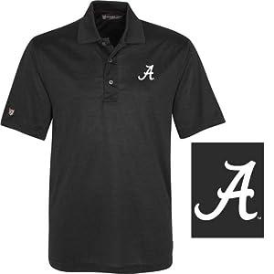 NCAA Alabama Crimson Tide Mens Cambridge Polo Shirt by Oxford