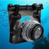 41ArMnE LaL. SL160  Opteka UC SLR Underwater Case/Housing for Olympus EVOLT E 1, E 3, E 5, E 30, E 300, E 330, E 410, E 420, E 450, E 500, E 510, E 520, E 600 & E 620 Digital SLR Cameras