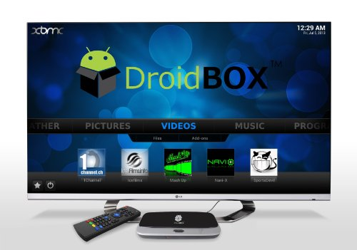 DroidBOX X7 Quad Core RK3188 Android 4.2.2 MINI PC TV Box - Free Movies & TV with fully Loaded XBMC AirPlay UPnP... Black Friday & Cyber Monday 2014