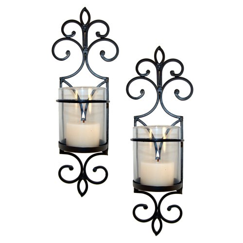 Pomeroy Pentaro Candle Holder Sconce Wall Lighting - Set of Two 755025127064 ToolFanatic.com