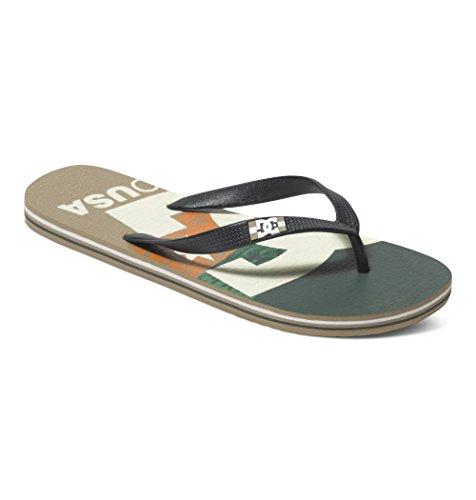 DC ShoesSPRAY GRAFFIK M SNDL - Scarpe da Ginnastica Basse Uomo , Multicolore (Mehrfarbig (GES)), 40.5