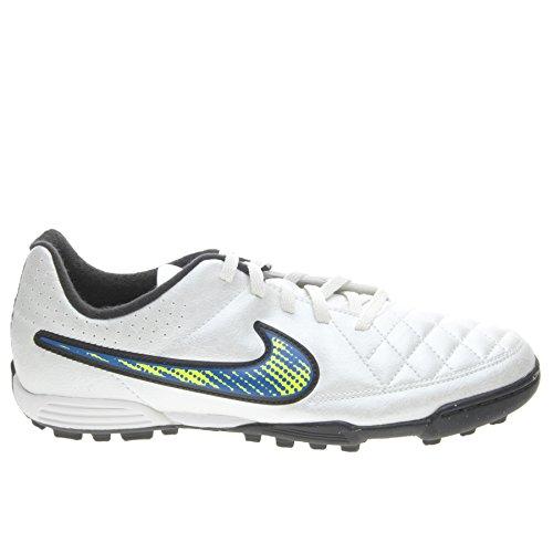 Scarpe Calcetto Nike Jr Tiempo Rio II Tf Ragazzo Taglia 38.5 Eu Codice 631524-174