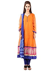 Imple Boutique Women's Kota Silk Salwar Suit Set (IBA-37)
