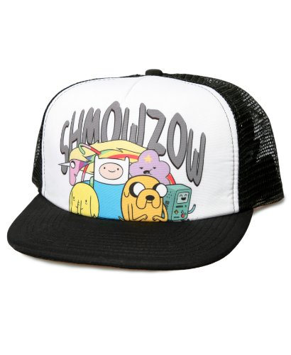 Adventure Time Shmowzow With Characters Trucker Hat