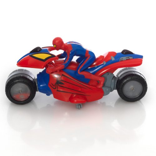Giochi preziosi gpz18402 spiderman moto radiocomandata - Spider man moto ...
