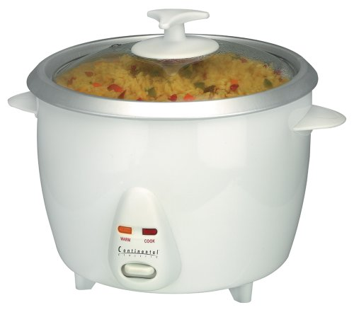 Continental Electric Ce23211 6-Cup Rice Cooker And Steamer