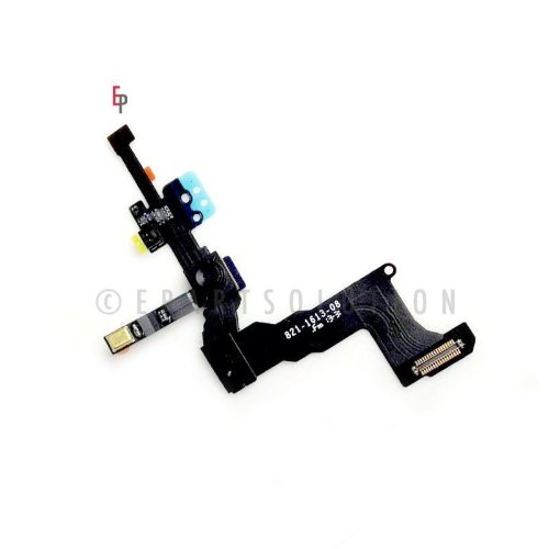 Epartsolution-Iphone 5S Front Face Camera With Proximity Sensor Cable Light Motion Flex Cable Replacement Part Usa Seller front-536155