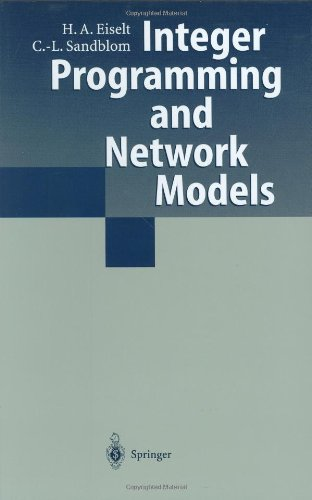 Integer Programming and Network Models