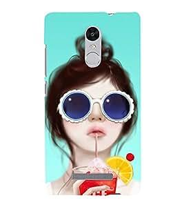 BEAUTIFUL GIRL Designer Back Case Cover for Xiaomi Redmi Note 3