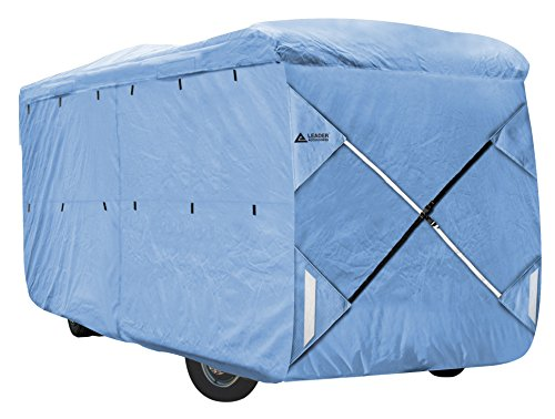 Leader Accessories Blue Class a RV Cover Fits Motorhome (Fits 33'-37') (Rv Roof Ac Unit compare prices)