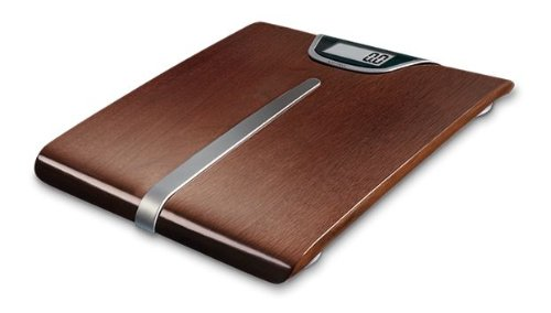 Soehnle Lifestyle Legno Digital Bathroom Scales 63200 - Dark Wood Veneer