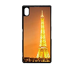 Vibhar printed case back cover for Sony Xperia Z2 EiffelLights