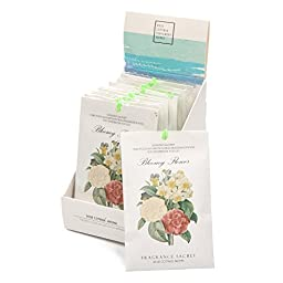 FAMILIFE 12 Packs Portable Scented Sachets for Room, Wardrobe, Bathrooms, Cars, Laundry Baskets (Ocean)