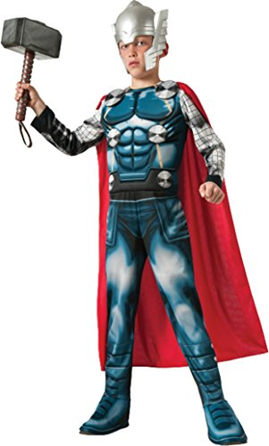 Boys Thor Kids Child Fancy Dress Party Halloween Costume