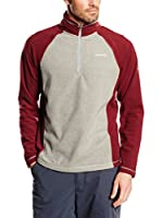 Craghoppers Forro Polar Union Half Zip (Gris / Granate)