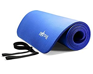 Dark Blue NPR Yoga Mat 72x24x1/2