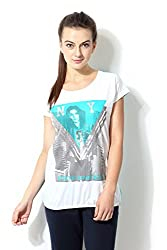 Ajile by Pantaloons Women's T-Shirt_Size_S
