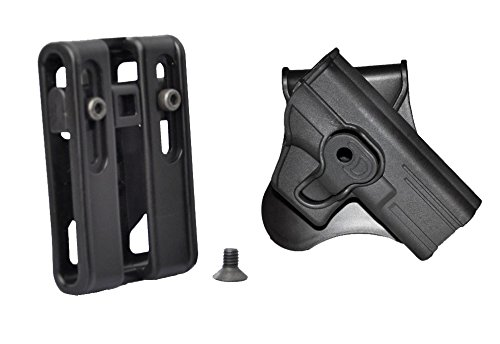 Tactical Scorpion Gear Smith & Wesson Bodyguard 380 Modular Level II Retention Paddle Holster - Option 2 (Bodyguard Gear compare prices)