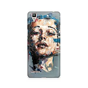 Mobicture Girl Abstract Premium Printed Case For Oppo F1
