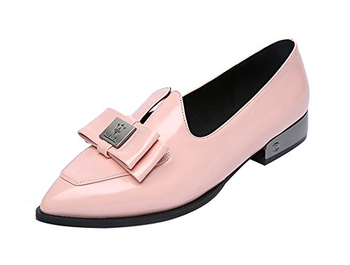 freerun-womens-pointed-toe-slip-on-low-heel-with-bowknow-flats-shoes-7-bmuspink
