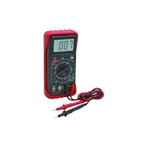Multimeter with audible continuity