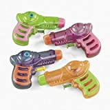 12 Neon Grip Squirt Guns