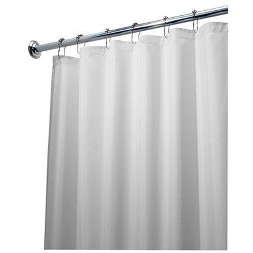 interdesign-84-inch-fabric-waterproof-long-shower-curtain-liner-white